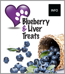 Blueberry & Liver Treats (8)