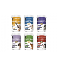 6 small pots of medium treats (net 480g -- Save £6.41)