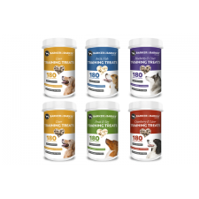 6 small pots of medium treats (net 480g -- Save £8.21)