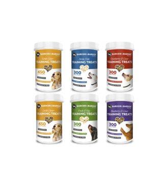6 small of pots of small treats - (Net 492g -- Save £8.21)