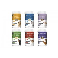 6 small of pots of small treats - (Net 492g -- Save £8.21) NEW POT SIZES
