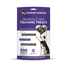 Large Blueberry & Liver Treats - Pouch of 550 (net 550g)