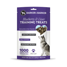 Medium Blueberry & Liver Treats - Pouch of 1000 (net 500g)