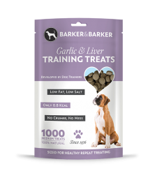 Medium Garlic & Liver Treats - Pouch of 1000 (net 500g)