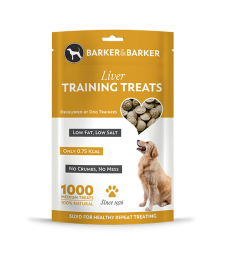 Medium Liver Treats - Pouch of 1000 (net 500g)