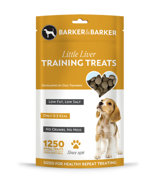 Small Liver Treats - Pouch of 1250 (net 250g)