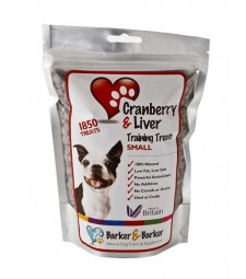 Small Cranberry & Liver Treats - Pouch of 1850 (net 555g)