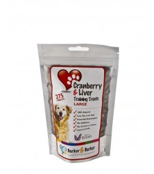 Large Cranberry & Liver Treats - Pouch of 275 (net 275g)