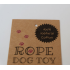 Strong, Natural Cotton Rope Dog Toy