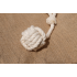 Natural Cotton Ball with Handle Dog Toy