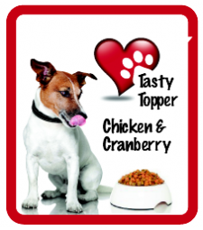 Tasty Topper Chicken & Cranberry - Pot (net 500g)